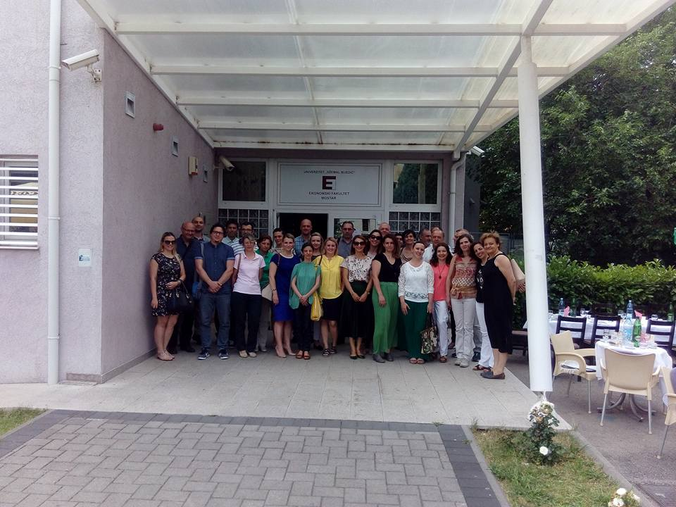 STINT Project Mostar 14.06.2017 University Dzemal Bijedic of Mostar